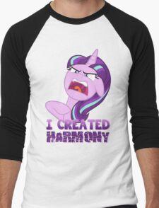 STARLIGHT GLIMMER - HARMONY! Men's Baseball ¾ T-Shirt