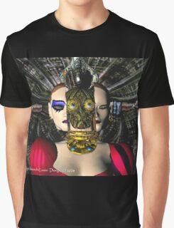 ANDROID XENIA SPACESHIP PILOT  / Sci -Fi Graphic T-Shirt
