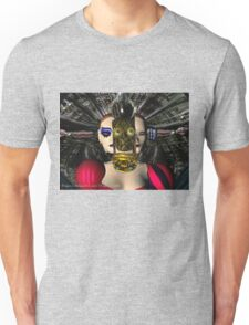 ANDROID XENIA SPACESHIP PILOT  / Sci -Fi Unisex T-Shirt