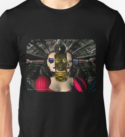 ANDROID XENIA SPACESHIP PILOT  / Sci -Fi Unisex T-Shirt