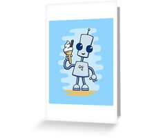 Ned's Ice Cream Greeting Card