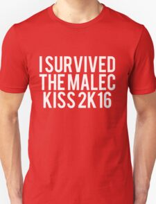 I Survived Malec Kiss T-Shirt