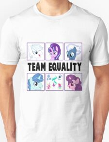 TEAM EQUALITY - WHITE VERSION T-Shirt