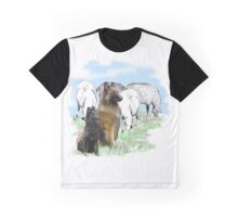 Belgian Terv and sheep Graphic T-Shirt