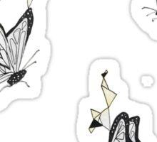 Geometric Butterfly  Sticker