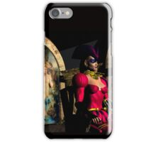 ANDROID XENIA IN HYPERION'S ORBITER  Sci-Fi iPhone Case/Skin