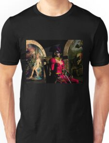 ANDROID XENIA IN HYPERION'S ORBITER  Sci-Fi Unisex T-Shirt