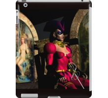 ANDROID XENIA IN HYPERION'S ORBITER  Sci-Fi iPad Case/Skin