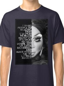 Latrice Royale Text  Portrait Classic T-Shirt