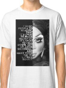 Latrice Royale Text  Portrait Classic T-Shirt