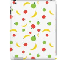 I like to Eat Apples and Bananas iPad Case/Skin