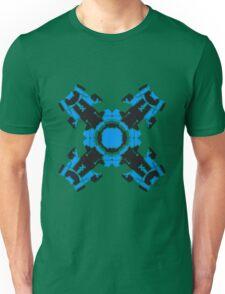 microchip motherboard technology line connection datentechnik electronics cool design robot cyborg energy pattern Unisex T-Shirt