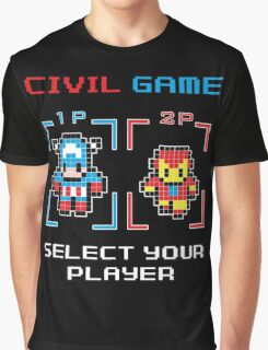 civil game Graphic T-Shirt
