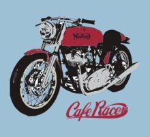 NORTON CAFE RACER VINTAGE ART One Piece - Short Sleeve