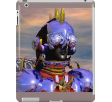 TITAN CYBORG PORTRAIT Blue Science Fiction ,Sci Fi iPad Case/Skin