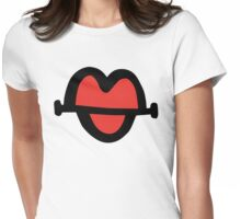 Lips. Super! Womens Fitted T-Shirt