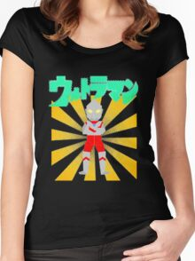 Origami Ultraman Women's Fitted Scoop T-Shirt