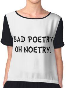 Bad Poetry Chiffon Top