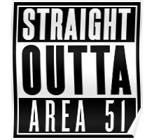 Straight Outta Area 51 Poster