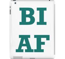 Bi AF iPad Case/Skin