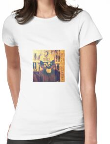The Man is fashionista Womens Fitted T-Shirt