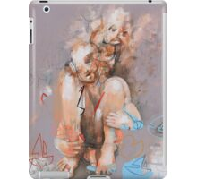 A Grown Man in a Bathtub with Toys (because what I do on my own time is my business) iPad Case/Skin