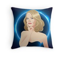 Moonlight Maddie Throw Pillow