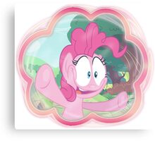 PINKIE PIE - LET ME IN! Canvas Print