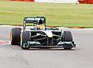 Lotus F1 - Type 127 - 2010  by Nigel Bangert