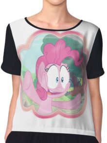 PINKIE PIE - LET ME IN! Chiffon Top
