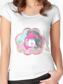 PINKIE PIE - LET ME IN! Women's Fitted Scoop T-Shirt