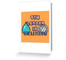 Gym Leader Greeting Card
