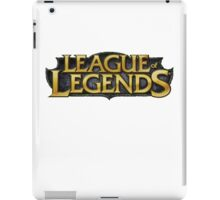 League of Legends LoL Logo (T-shirt, Phone Case & more)  iPad Case/Skin