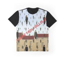 Magritte - Golconde Graphic T-Shirt