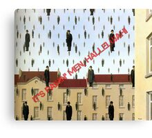Magritte - Golconde Canvas Print