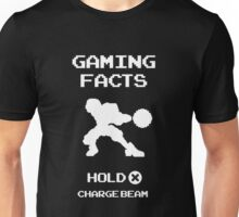 Gaming Facts Charge Beam Unisex T-Shirt