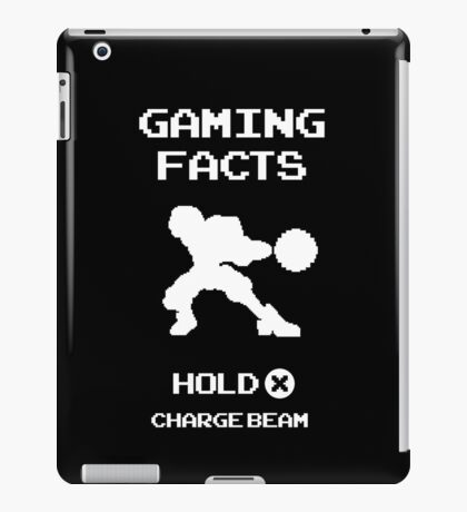 Gaming Facts Charge Beam iPad Case/Skin