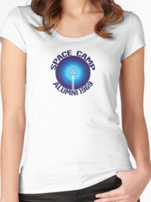 Space Camp Alumni 1969 Women's Fitted Scoop T-Shirt