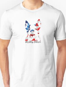 Boston Terrier Dog Bless America Unisex T-Shirt