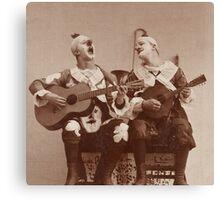 Clown Guitar and Mandolin Canvas Print