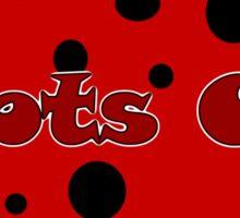 Spots On Sticker