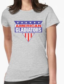 American Gladiators Womens Fitted T-Shirt
