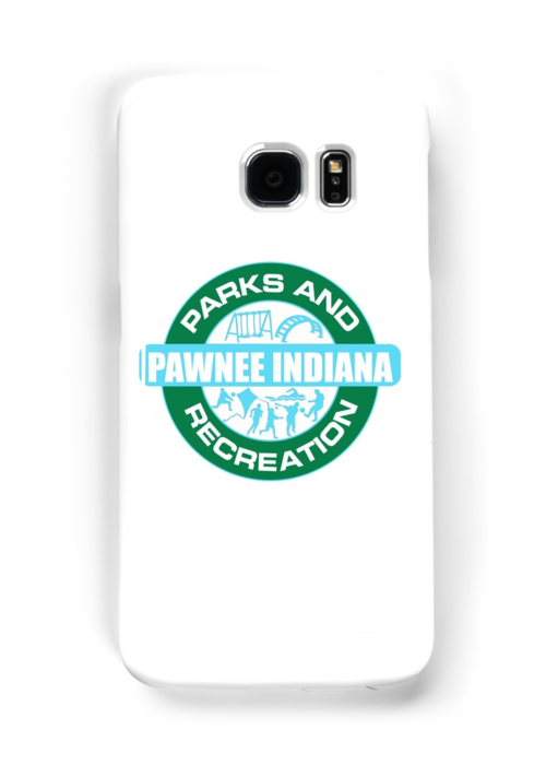 Pawnee Parks And Rec Logo Samsung Galaxy Cases Skins
