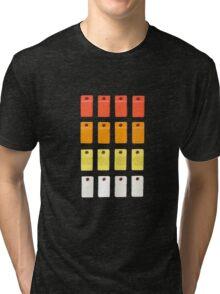 808 Button Grid Tri-blend T-Shirt