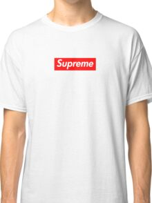 Supreme Logo Classic T-Shirt