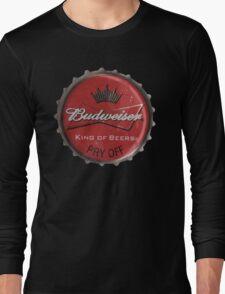 BUDWEISER BOTTLE CAP Long Sleeve T-Shirt