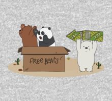 Free Bears! One Piece - Long Sleeve