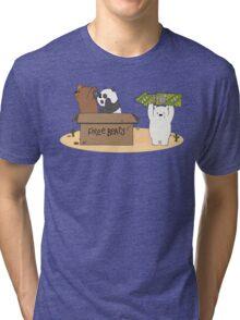 Free Bears! Tri-blend T-Shirt