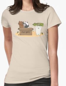 Free Bears! Womens Fitted T-Shirt