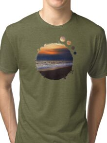Sunset Beach Tri-blend T-Shirt